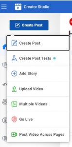 the Creator Studio has new features that the former Facebook scheduling tool does not
