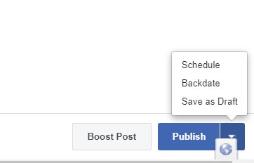 So how do you schedule a post in Creator Studio?